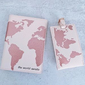 Anthropologie The World Awaits Travel Set